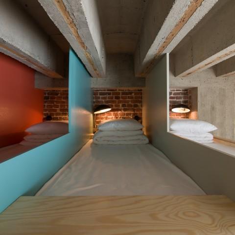 Dormitory Jam Hotel - Olivia Gustot Architectes