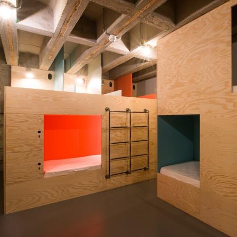 Dormitory Room Jam Hotel - Olivia Gustot Architectes