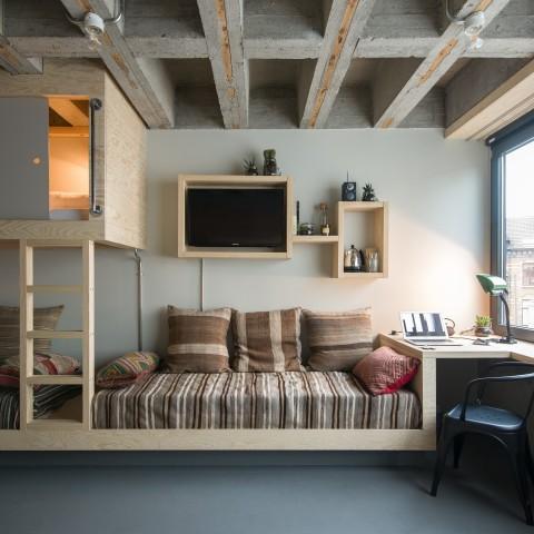 Supra Room Jam Hotel - Olivia Gustot Architectes