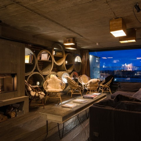 Rooftop Bar Jam Hotel - Olivia Gustot Architectes - Decoration Lionel Jadot